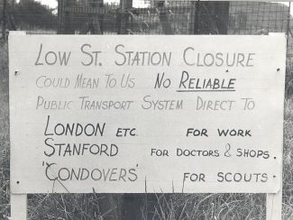 Closure Sign