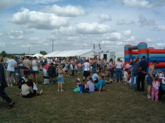 Enjoying The festival | Tilbury Riverside Project