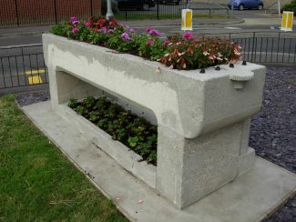 Tilbury horse trough