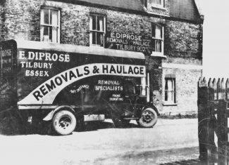 Diprose removal lorry