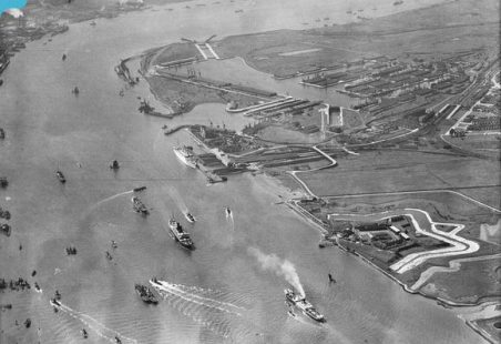 More ariel views of Tilbury