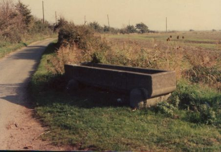Photos of the drinking trough