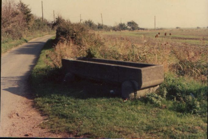 The trough at Biggin Lane showing some damage | Jack Doodes