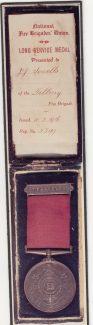 Tilbury Fireman Medal 1916