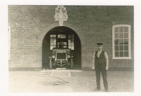 Front of the New Fire Station in Tilbury Docks