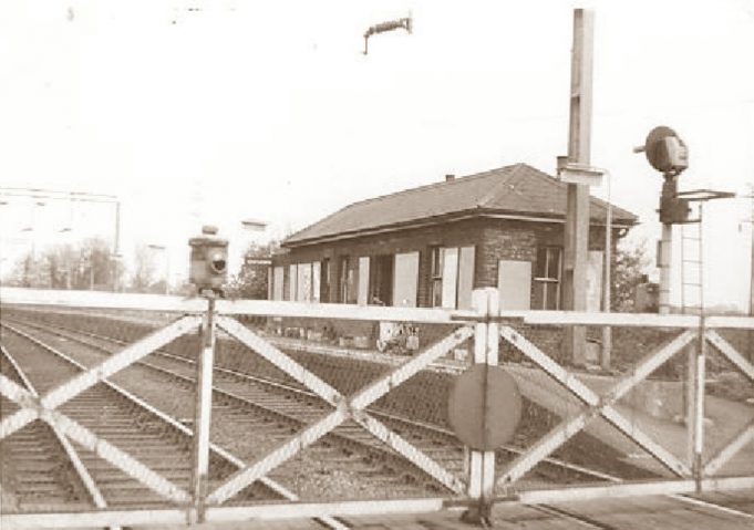 Gates and waiting room - 1960s