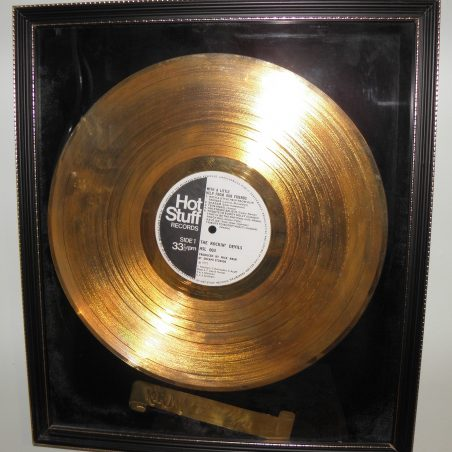 Gold Disc | Cliff Cowin