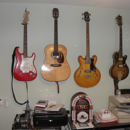 Guitars and Gold Disc's | Cliff Cowin