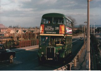 370 Bus on Hairpin bridge