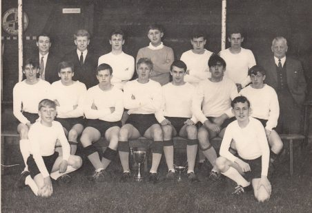 Tilbury Juniors Football Team. 1964