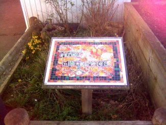 Memorial to Mary Mackinnon at Herringham School