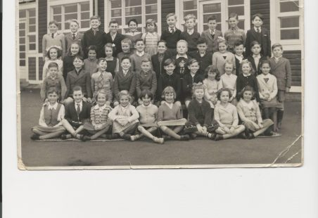 Manorway School photo 1958 or 59