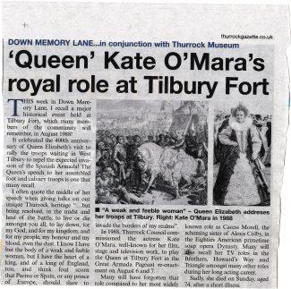 Kate O'Mara 10th Aug 1939 - 30th March 2014