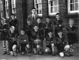 Lansdowne football team 1962