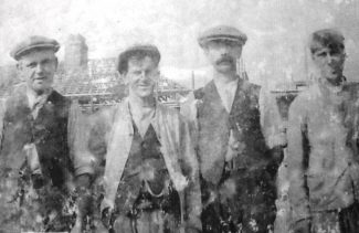 Alfred, George, Bill and Frederick (left to right)