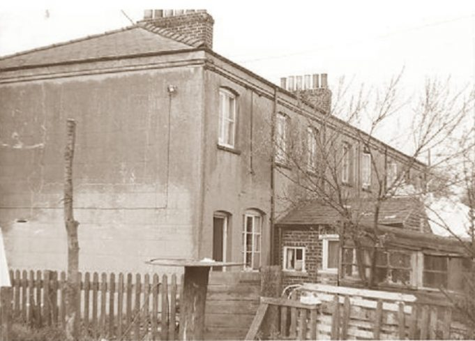 Low Street Cottages - back