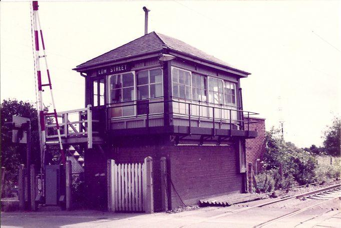 Signal box - 1982