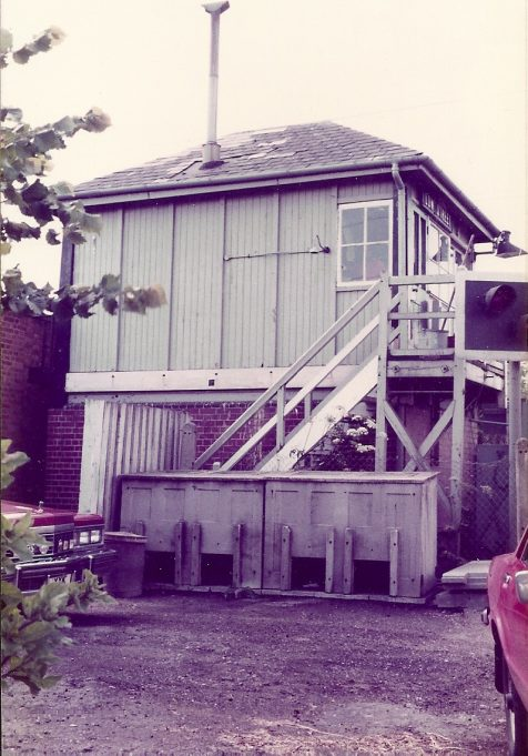 Signal Box, 1982 - another view