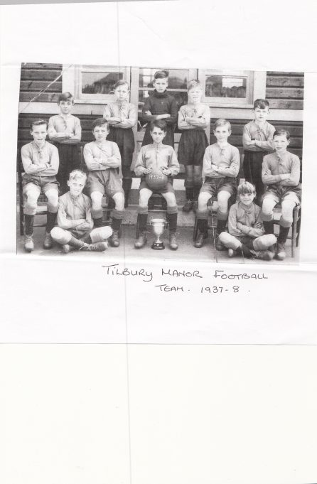 Tilbury Manor Junior Football Team