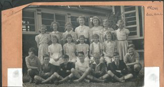 Manorway 1951 - pupils who passed the 11+ | from Bill Gill
