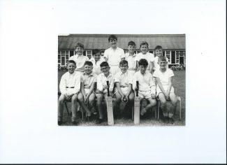 Manorway Cricket Team 1962   Paul Johnson