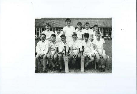 Manorway Cricket Team 1962