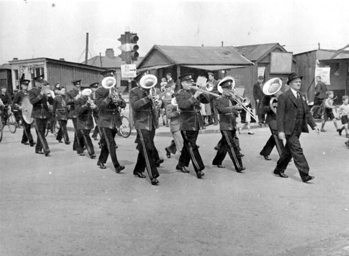 Tilbury Band on the March