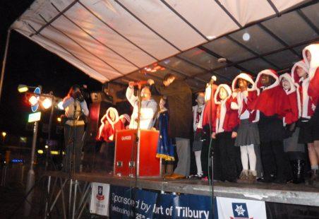 Tilbury Christmas Lights