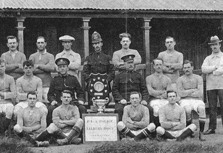 PLA police football team