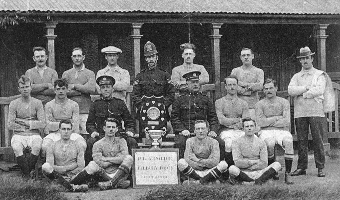 PLA police football team 1922