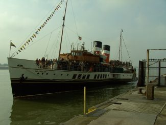 The Paddle Steamer, Waverley