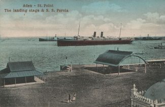 The SS Persia at Aden | Wikipedia