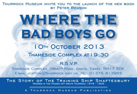 Book Launch at Thameside Theatre