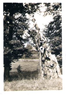 Playing at Biggin, 1930s | from John Smith