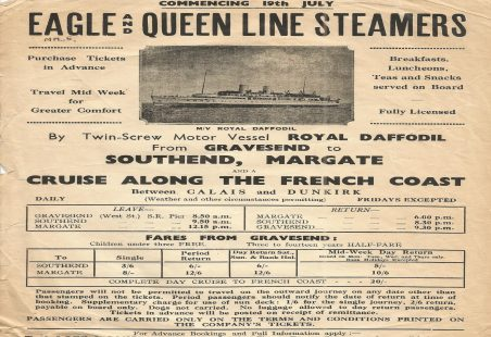 Eagle and Queen Line Steamers