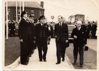 Prince Philip in Tilbury!