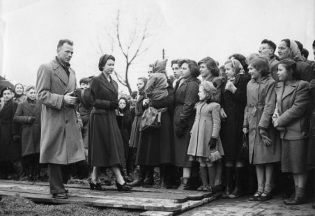 Red Cross in Tilbury during the 1953 floods