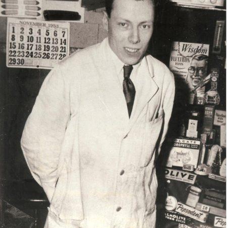 George in the Tin Hut 1953