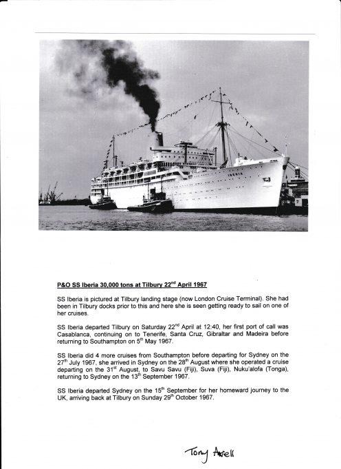 P&O SS Iberia
