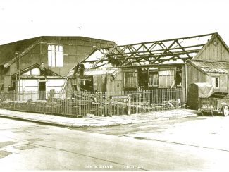 St. Johns Church Hall under Demolition.1965-66. | from John Smith