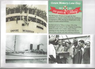 Windrush comes to Tilbury - June 22nd 1948