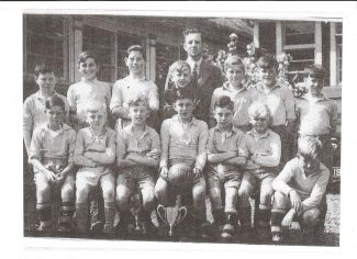 Manorway Junior School Football Team 1951