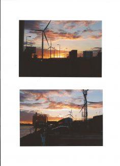 Sunset at Tilbury