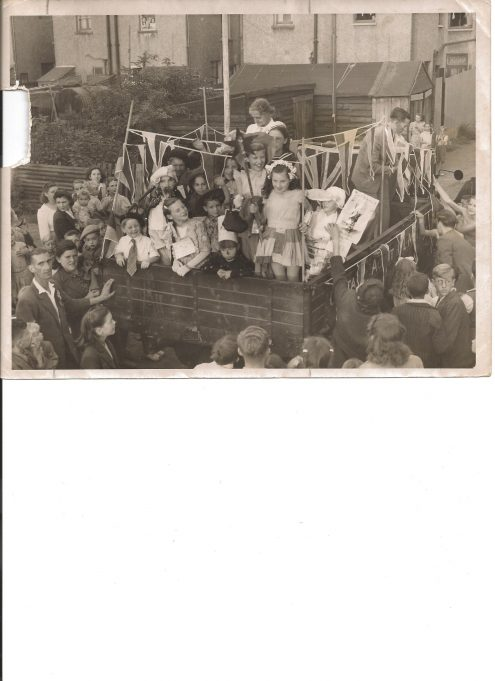 A Carnival float