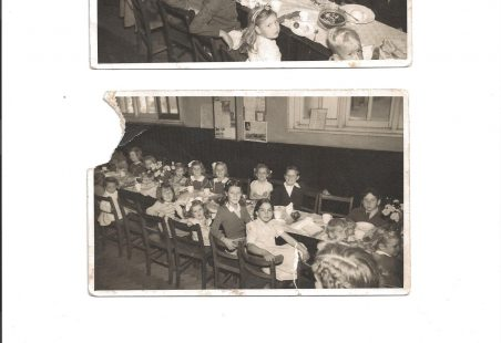 A children's tea party