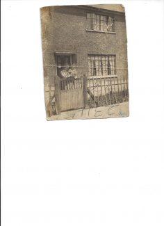 Jean Goodman outside her house at 93 Kipling Avenue