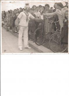 Popeye the Sailor man in Tilbury!