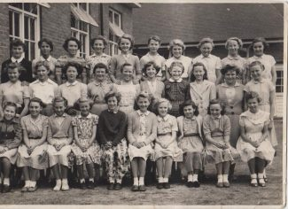 St. Chad's School Photo Approx 1955