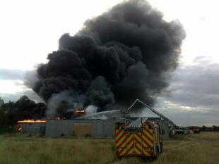 St Chads School Fire | Picture: Thurrock Gazette