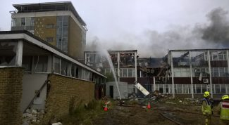 Fire at the College | Essex Fire Service